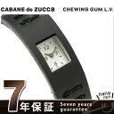 ズッカ CABANE de ZUCCa カバン ド ズッカ 腕時計 チューイングガム レザーバージョン AWGK019 ブラック 時計
