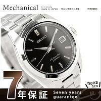 セイコーメカニカルメンズ機械式腕時計ブラックSEIKOMechanicalSARB033【smtb】