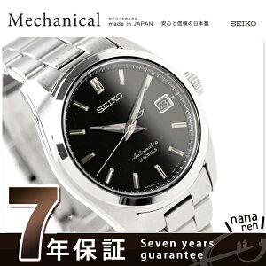 セイコー メカニカル ブラック Mechanical