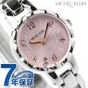 ミッシェルクラン MICHEL KLEIN 腕時計 レディース ピンク...