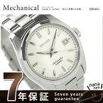【当店なら!さらにポイント+4倍 25日10時〜】セイコー メンズ 腕時計 メカニカル スタンダード アイボリー SARB035 SEIKO Mechanica...