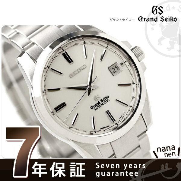 7c8a526a68 SBGR055 グランド セイコー 機械式 腕時計 ホワイト GRAND SEIKO [新品][7年保証][送料無料]