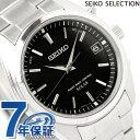 セイコー 電波 ソーラー 腕時計 スピリット ブラック SBTM159 SEIKO SPIRIT 時計