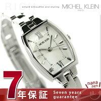 ミッシェルクランパーリィトノーブレスレットAJCK083MICHELKLEIN腕時計ホワイト