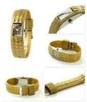 ズッカサファリズー2レディース腕時計AJGK064CABANEdeZUCCaブラウン×ゴールド