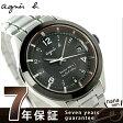 アニエスベー マルセイユ 電波ソーラー メンズ 腕時計 FBRY995 agnes b. ブラック