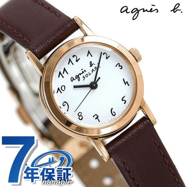 【トートバック付き♪】アニエスベー 時計 レディース ソーラー FBSD962 agnes b. マルチェロ バーガンディ 革ベルト 腕時計【あす楽対応】
