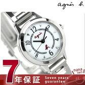 アニエスベー ソーラー レディース 腕時計 FBSD970 agnes b. ホワイト