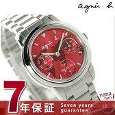 アニエスベー サム ワールドマップ レディース FCST995 agnes b. 腕時計 マルチファンクション【あす楽対応】