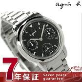 アニエスベー SAM リバイバル レディース 腕時計 FCST999 agnes b. クオーツ マルチファンクション ブラック