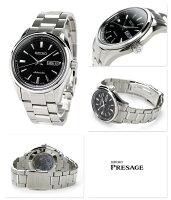セイコーメンズ腕時計メカニカルプレザージュSARY057SEIKOMechanicalブラック