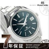 グランドセイコーペアウォッチメンズ腕時計SBGV017GRANDSEIKOクオーツネイビー