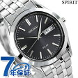 セイコー スピリット ソーラー メンズ SBPX083 SEIKO SPIRIT 腕時計 ブラック