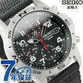 セイコー 逆輸入 海外モデル 高速クロノグラフ SND399P1 (SND399P) SEIKO メンズ 腕時計 クオーツ ブラック ナイロンベルト【あす楽対応】