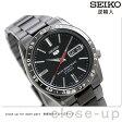 セイコー 5 逆輸入 海外モデル 自動巻き SNKE03K1(SNKE03KC) SEIKO メンズ 腕時計 オールブラック【あす楽対応】