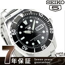セイコー 逆輸入 海外モデル 5 スポーツ 日本製 SNZF17J1(SNZF17JC) SEIKO 自動巻き メンズ 腕時計 ブラック【あす楽対応】