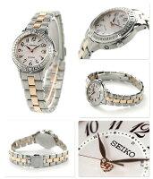 セイコーエクセリーヌ電波ソーラープレステージラインSWCW073SEIKODOLCE&EXCELINEレディース腕時計コンフォテックスダイヤモンドピンク×ピンクゴールド