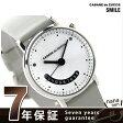 ズッカ ニヒル クオーツ メンズ 腕時計 AJGJ022 CABANE de ZUCCa シルバー×グレー