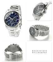 マッキントッシュフィロソフィークロノグラフ腕時計FBZV981MACKINTOSHPHILOSOPHYネイビー