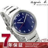 アニエスベー マルチェロ クオーツ レディース 腕時計 FCSK948 agnes b. ネイビー