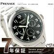 セイコー メカニカル プレザージュ 自動巻き メンズ 腕時計 SARW015 SEIKO ブラック