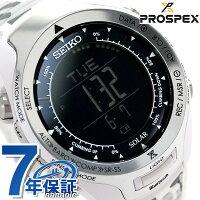 セイコープロスペックス三浦豪太登山限定モデルSBEL009SEIKOPROSPEX腕時計ブラック×ホワイト
