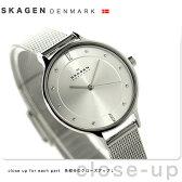 スカーゲン ア二タ クオーツ レディース 腕時計 SKW2149 SKAGEN シルバー