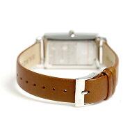 スカーゲンハーゲンクオーツレディース腕時計SKW2464SKAGENシルバー×ブラウン