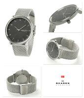 スカーゲンハルドクオーツメンズ腕時計SKW6175SKAGENグレー