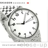 スカーゲンアンカークオーツメンズ腕時計SKW6200SKAGENシルバー