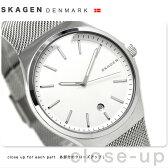スカーゲン スンドビー クオーツ メンズ 腕時計 SKW6262 SKAGEN ホワイト【あす楽対応】
