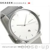 スカーゲン アンカー クオーツ メンズ 腕時計 SKW6290 SKAGEN シルバー