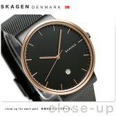スカーゲン アンカー 40mm クオーツ メンズ 腕時計 SKW6296 SKAGEN