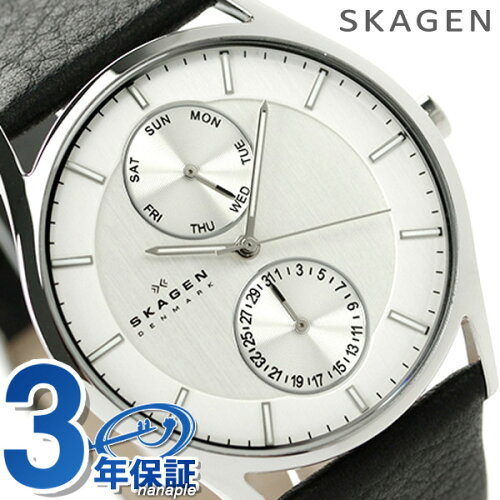 スカーゲン クラシック マルチファンクション メンズ SKW6065 SKAGEN 腕時計 クオーツ シルバー×...