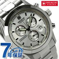 スイスミリタリーSWISSMILITALYメンズ腕時計ELEGANTCHRONOシルバーML246