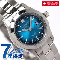 スイスミリタリーSWISSMILITALYレディース腕時計ELEGANTVIVIDブルーML265