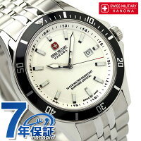 スイスミリタリーSWISSMILITALYメンズ腕時計フラッグシップホワイトML319