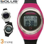 SOLUS ソーラス 腕時計 スポーツ 健康 ウォーキング 消費カロリー 心拍数測定 Leisure800 全4色 01-800
