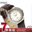 セイコー スピリット ソーラー レディース 腕時計 STPX039 SEIKO SPIRIT シルバー×ブラウン