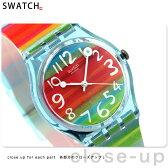 スウォッチ SWATCH 腕時計 スイス製 スタンダードジェント GS124 【あす楽対応】