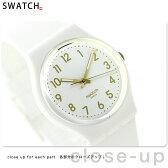 スウォッチ SWATCH 腕時計 スイス製 スタンダードジェント ホワイト・ビショップ GW164
