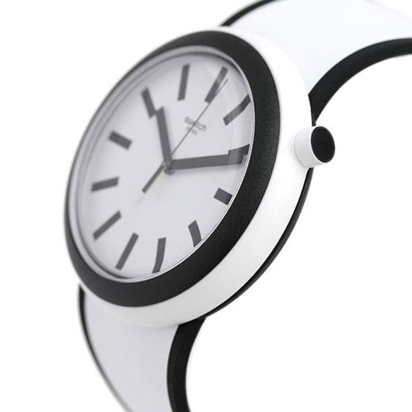 スウォッチ SWATCH 腕時計 スイス製 オリジナルス ポップ 45mm PNW100 時計