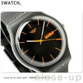 スウォッチ SWATCH 腕時計 スイス製 ニュージェント ダーク・レーベル SUOB704