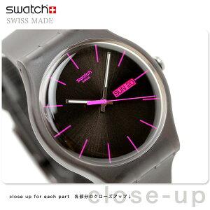SWATCH NEW GENT BROWN REBELSwatch スウォッチ スイス製 腕時計 ニュージェント ブラウンレー...
