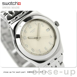 SWATCH FOLLOW WAYS CREAMSwatch スウォッチ スイス製 腕時計 FOLLOW WAYS クリーム YLS441G【...