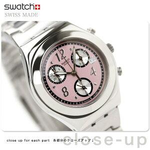 SWATCH IRONY MEDIUM CHRONOSwatch スウォッチ スイス製 腕時計 レディース アイロニー ミディ...