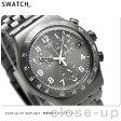 スウォッチ SWATCH 腕時計 スイス製 アイロニー クロノグラフ 43mm YVM402G【あす楽対応】