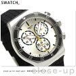 スウォッチ SWATCH 腕時計 スイス製 アイロニー クロノグラフ 43mm YVS420【あす楽対応】