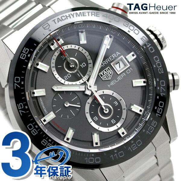 腕時計, メンズ腕時計 6,000 12359 01 43mm CAR201W.BA0714 TAG Heuer