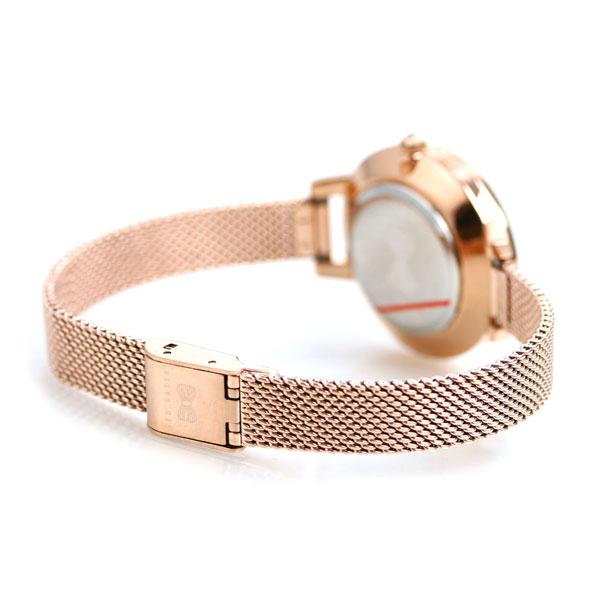 テッドベーカー 時計 レディース 花柄 蝶 おしゃれ かわいい TE50070011 腕時計 シルバー×ローズゴールド TED BAKER ケイト 32mm【あす楽対応】